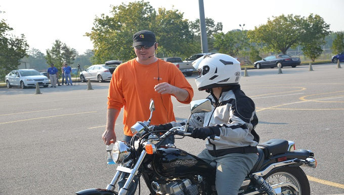 Mandatory motorcycle safety class gets riders ready for the road
