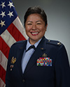 Official photo of Col. Rosalie Duarte